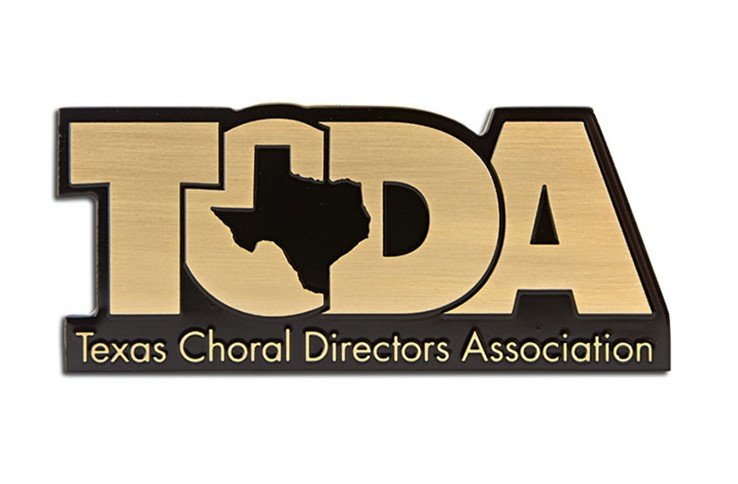 Texas Choral plaque